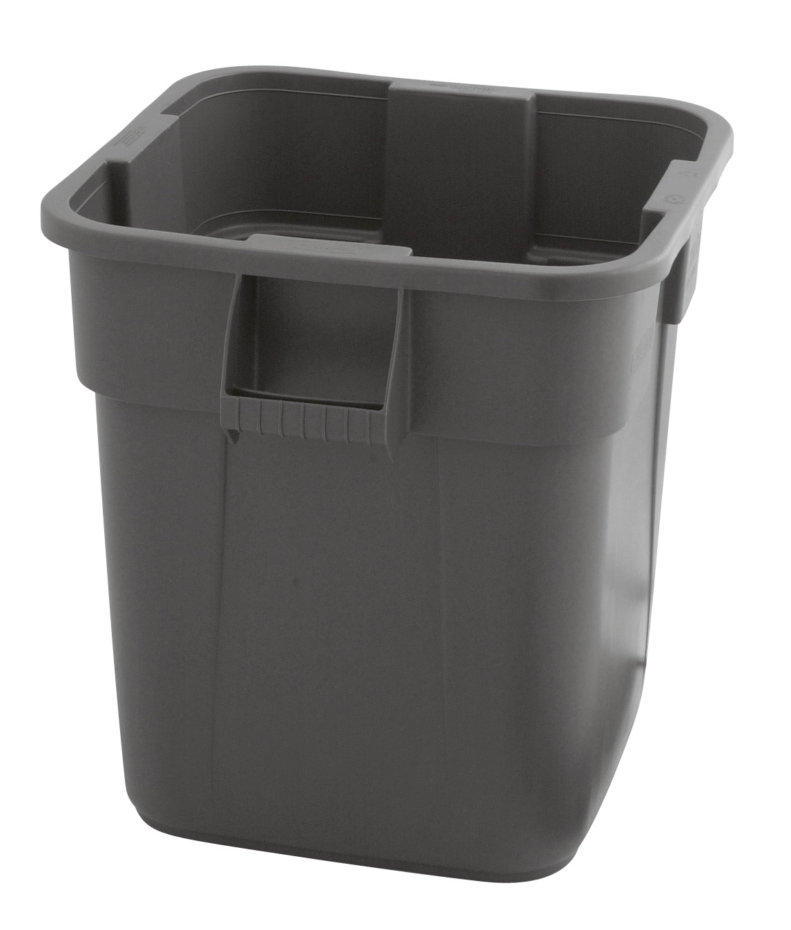 Rubbermaid Vierkante Brute container 151,1 ltr, Grijs (VB003536G)