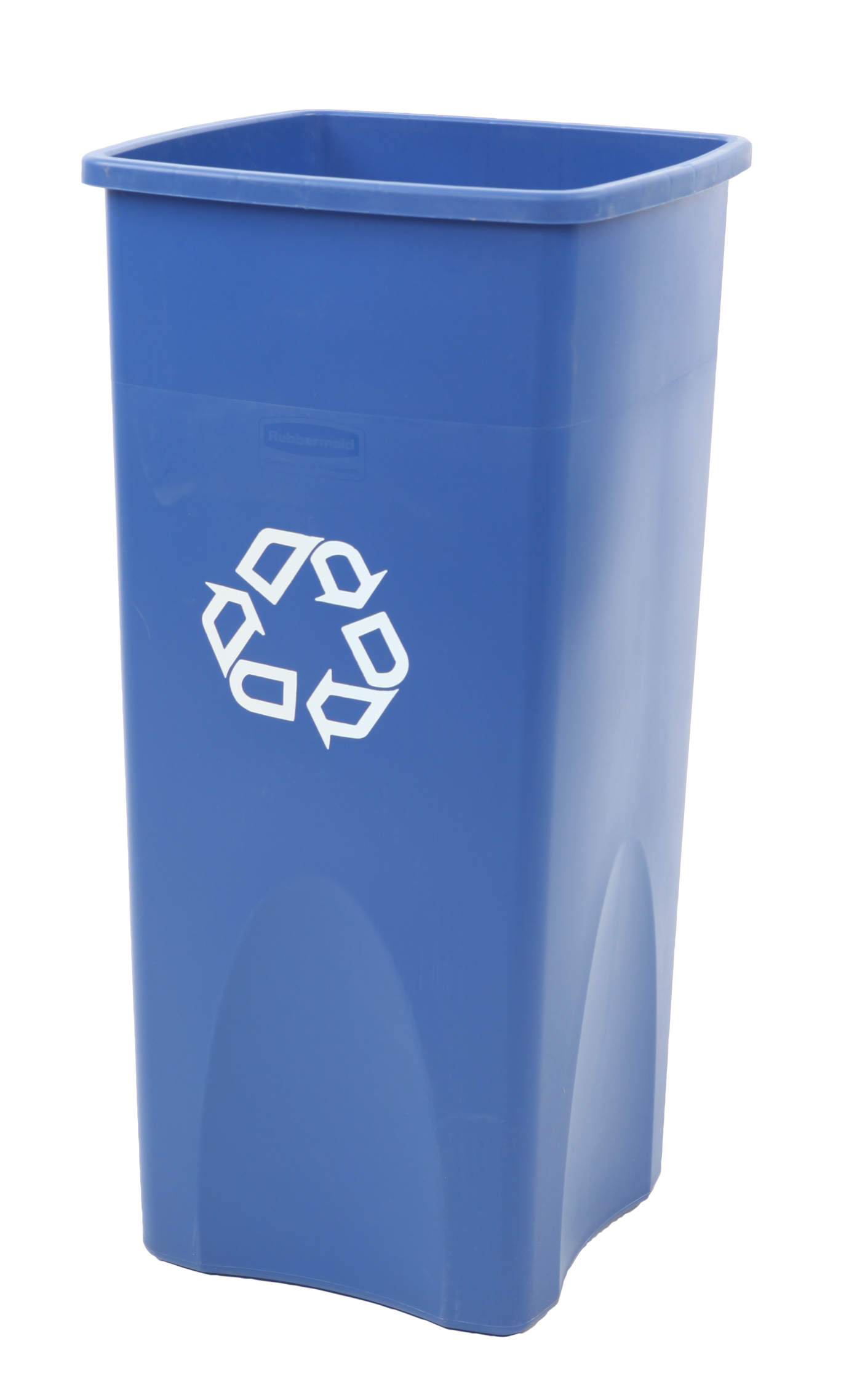 Rubbermaid Untouchable Container, Blauw Recyclingsymbool (VB003569B)