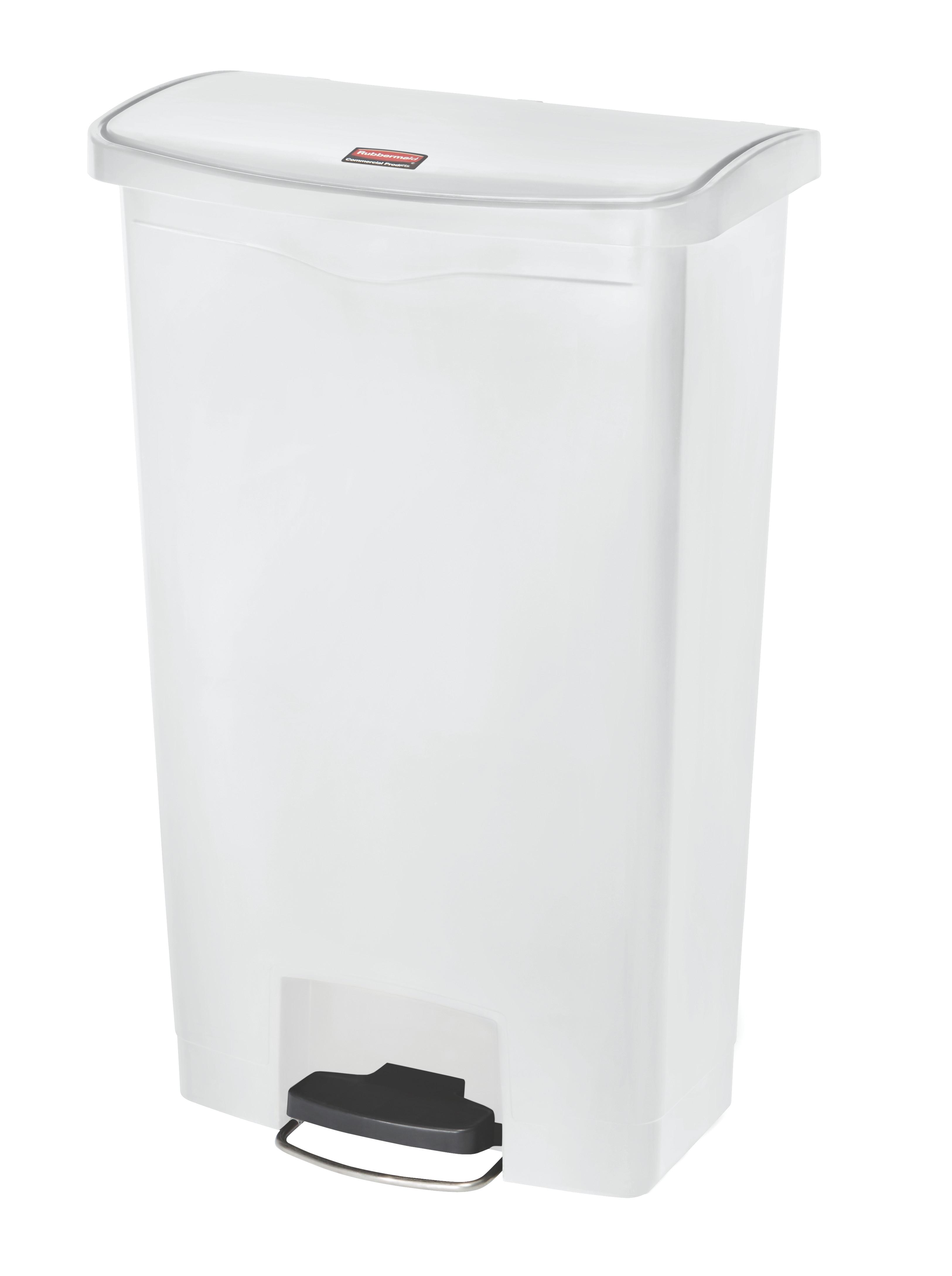 Rubbermaid Slim Jim Step On container Front Step kunststof afvalbak 68 ltr, (VB224030)