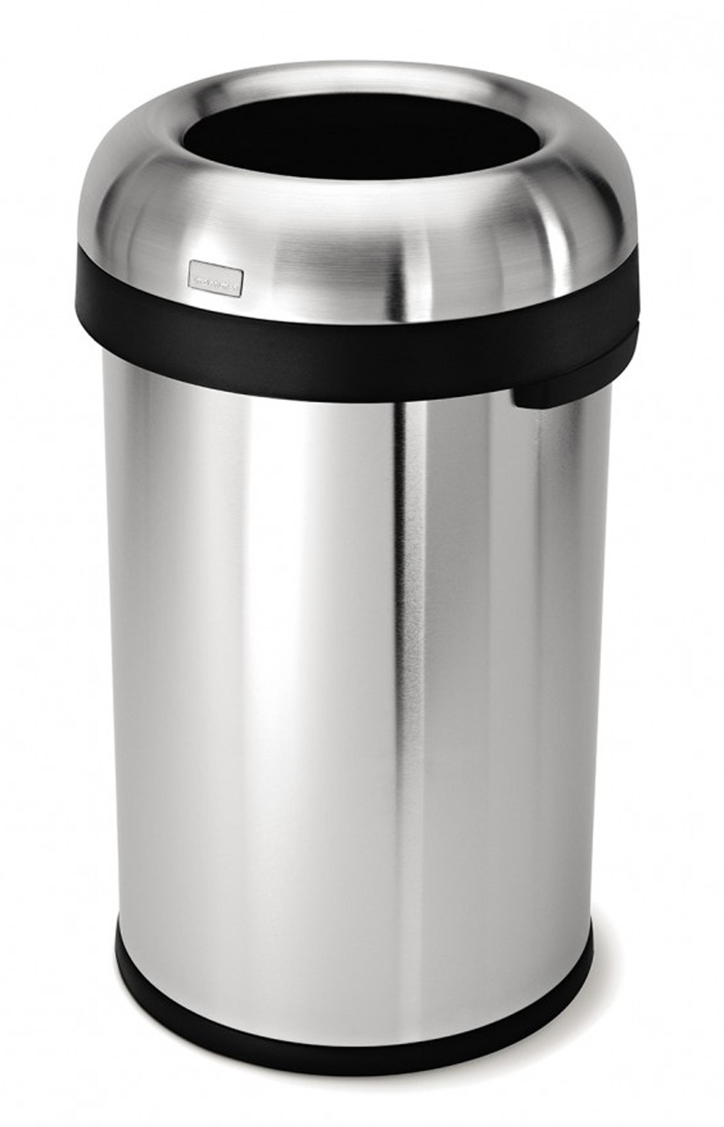 Simplehuman grote Afvalbak Bullet Open Top, 80 liter (VB016603)