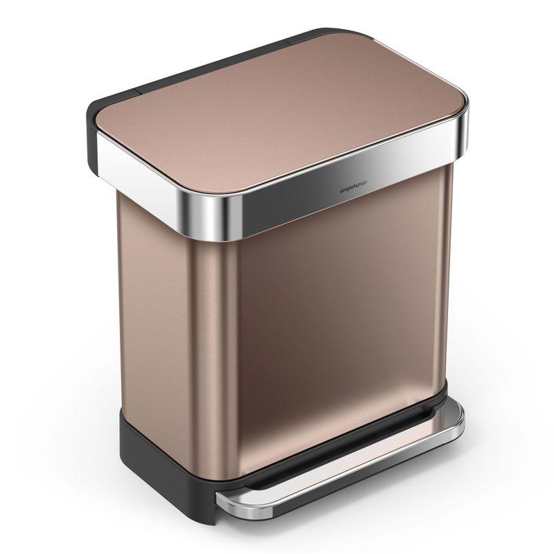 Design Afvalemmer Rectangular Liner Pocket, 30 liter (VB018560)