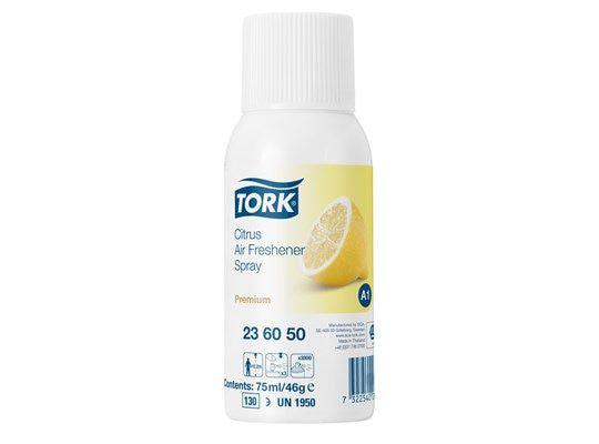 Tork Premium luchtverfrisser citrus 75ml doos à 12 bus/aerosol (236050)