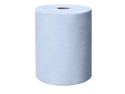 Tork Blue Hand Towel Roll, 1-laags, for electr. disp. 24,7 cm, pak à 6 rol (471115)