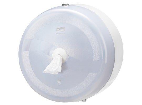 Tork SmartOne Toiletpapier Dispenser wit, T8 (472022) VERVANGEND PRODUCT 680000