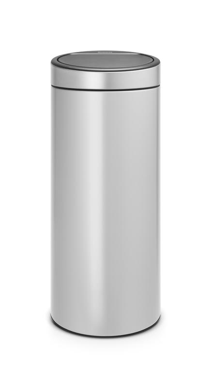 Brabantia stijlvolle Afvalbak Touch Bin, 30 liter (VB115387)