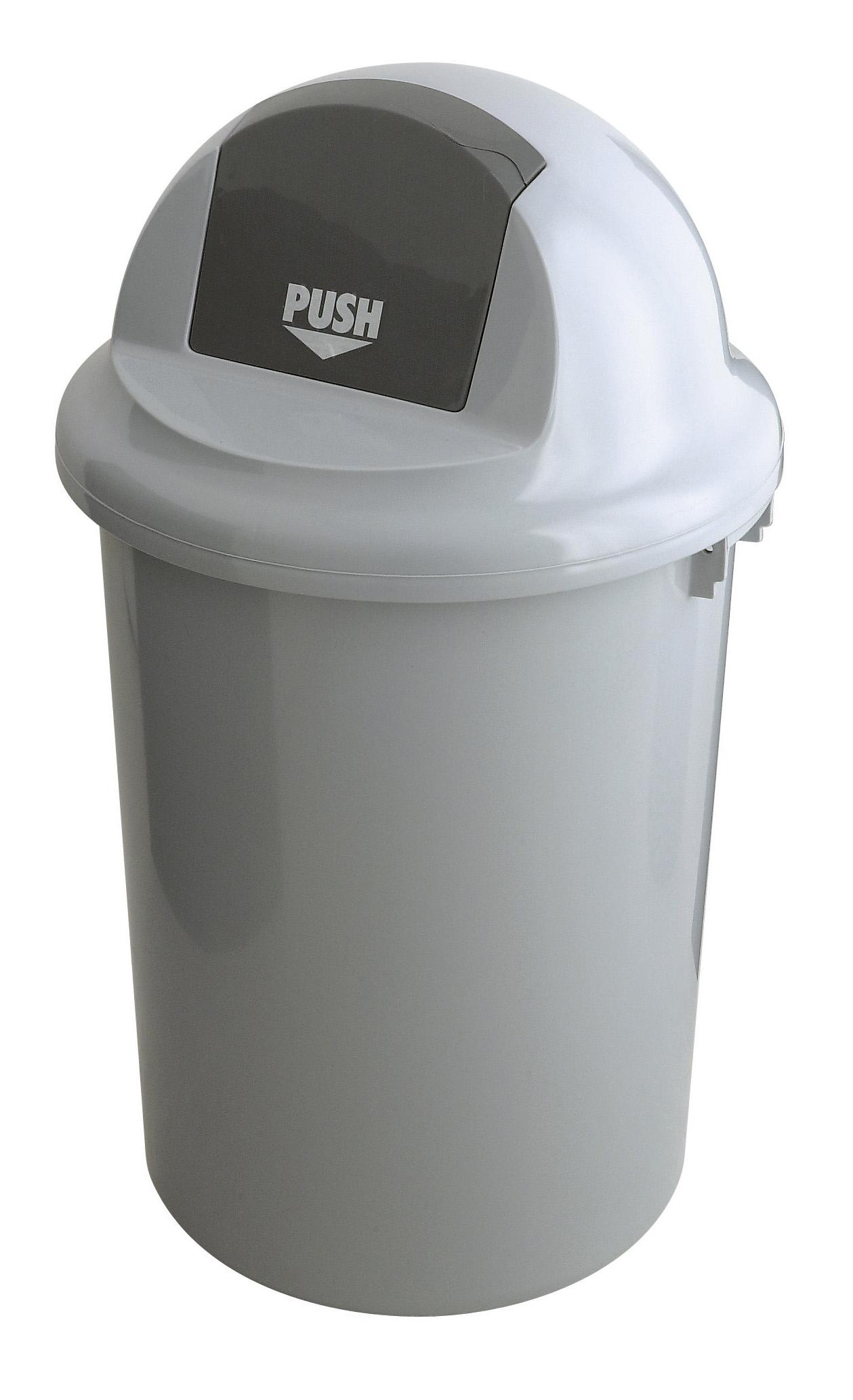 Kunststof afvalbak met klapdeksel, 90 ltr (VB200090)