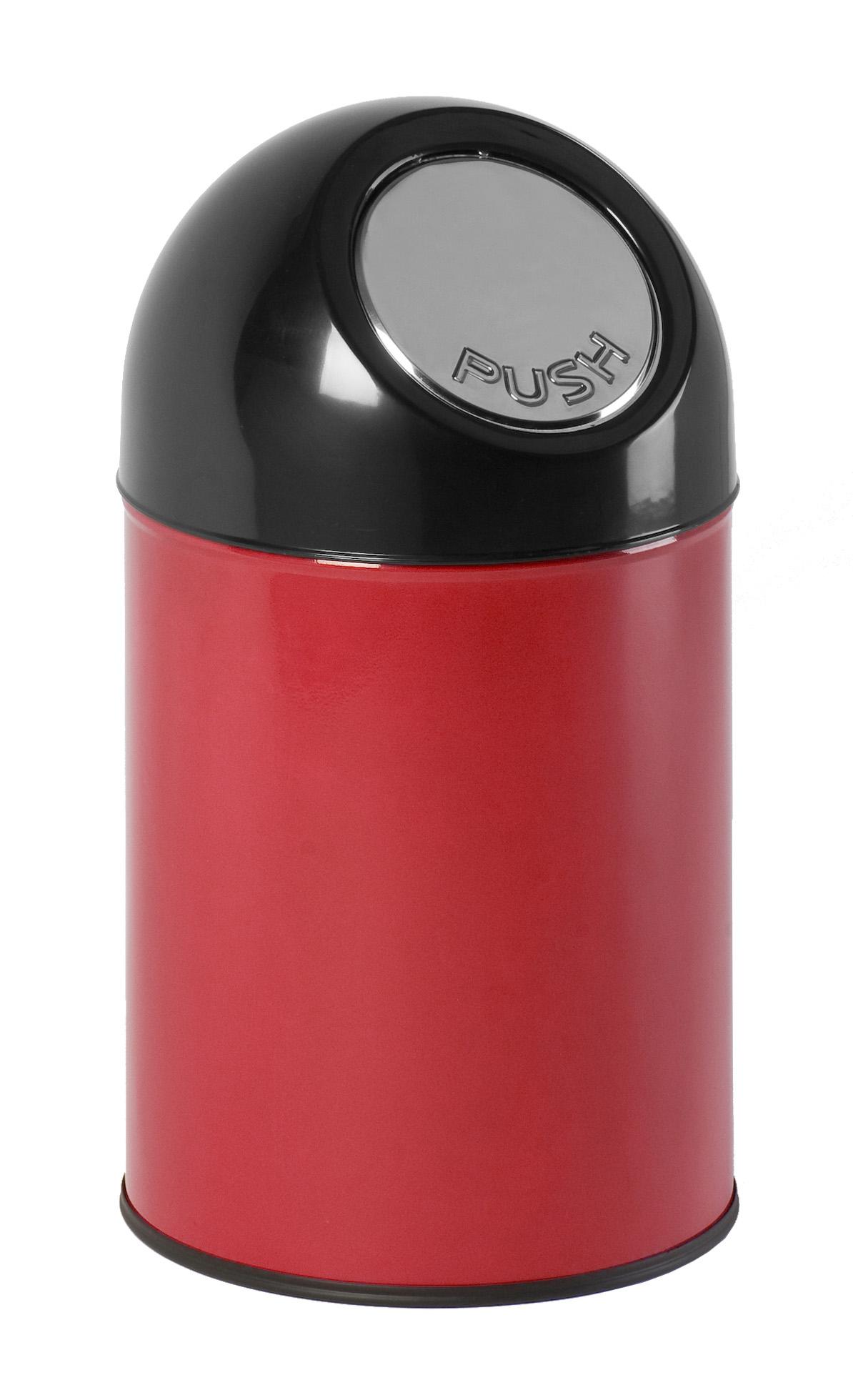 Afvalbak met pushdeksel 30 ltr (VB460001R)