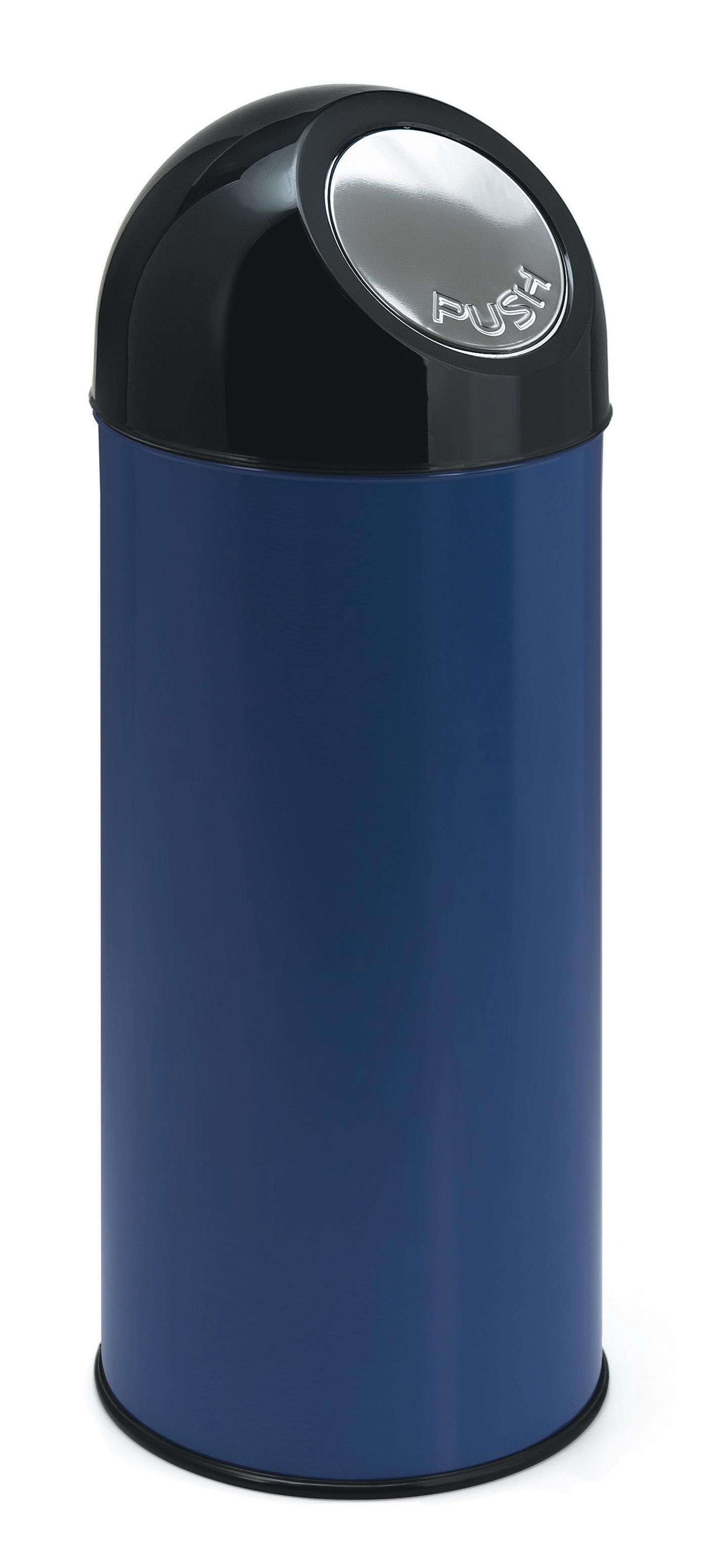 Afvalbak met pushdeksel 55 ltr (VB470001B)