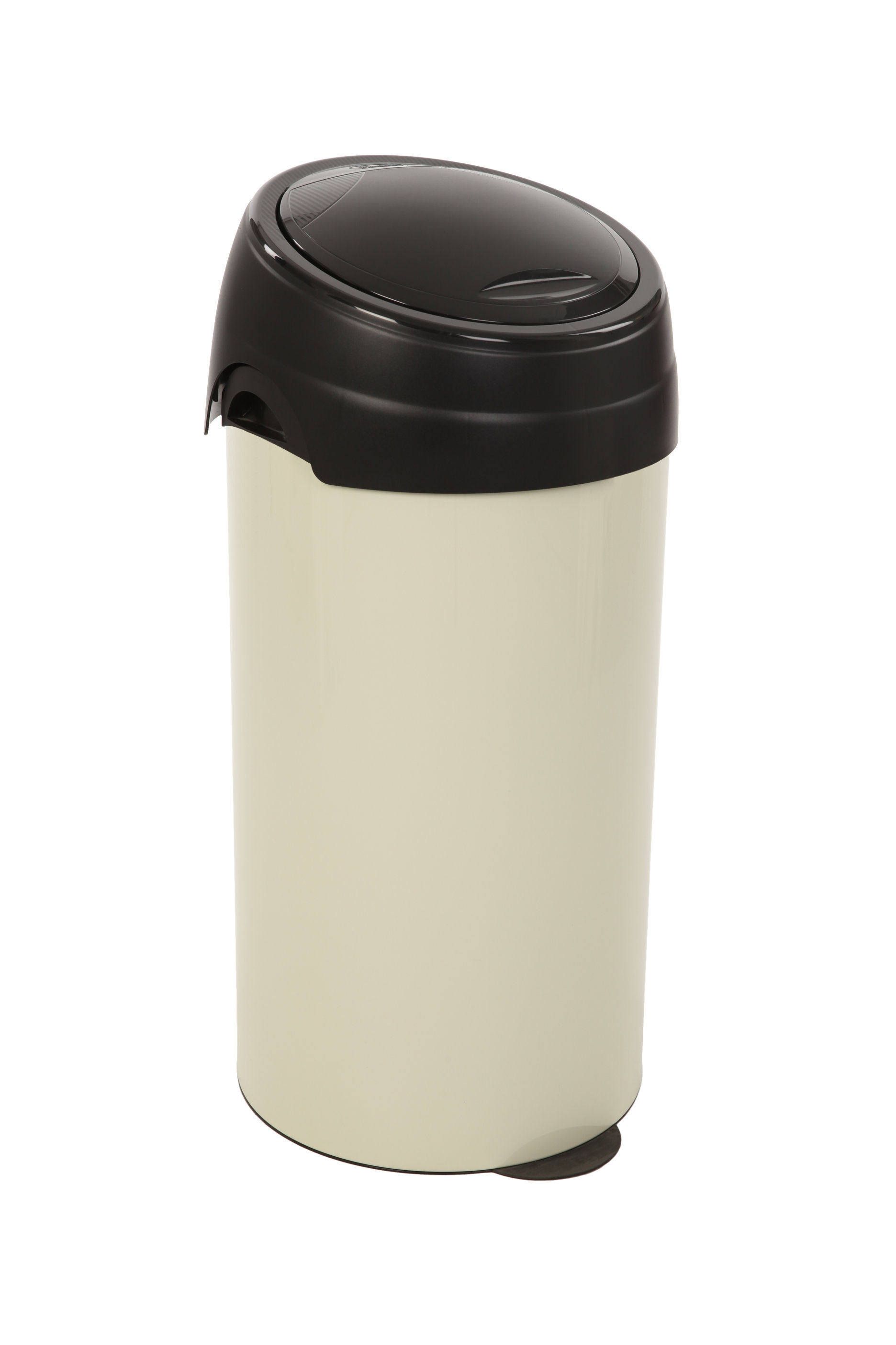 Ronde afvalbak met touchdeksel, 60 ltr (VB243703C)