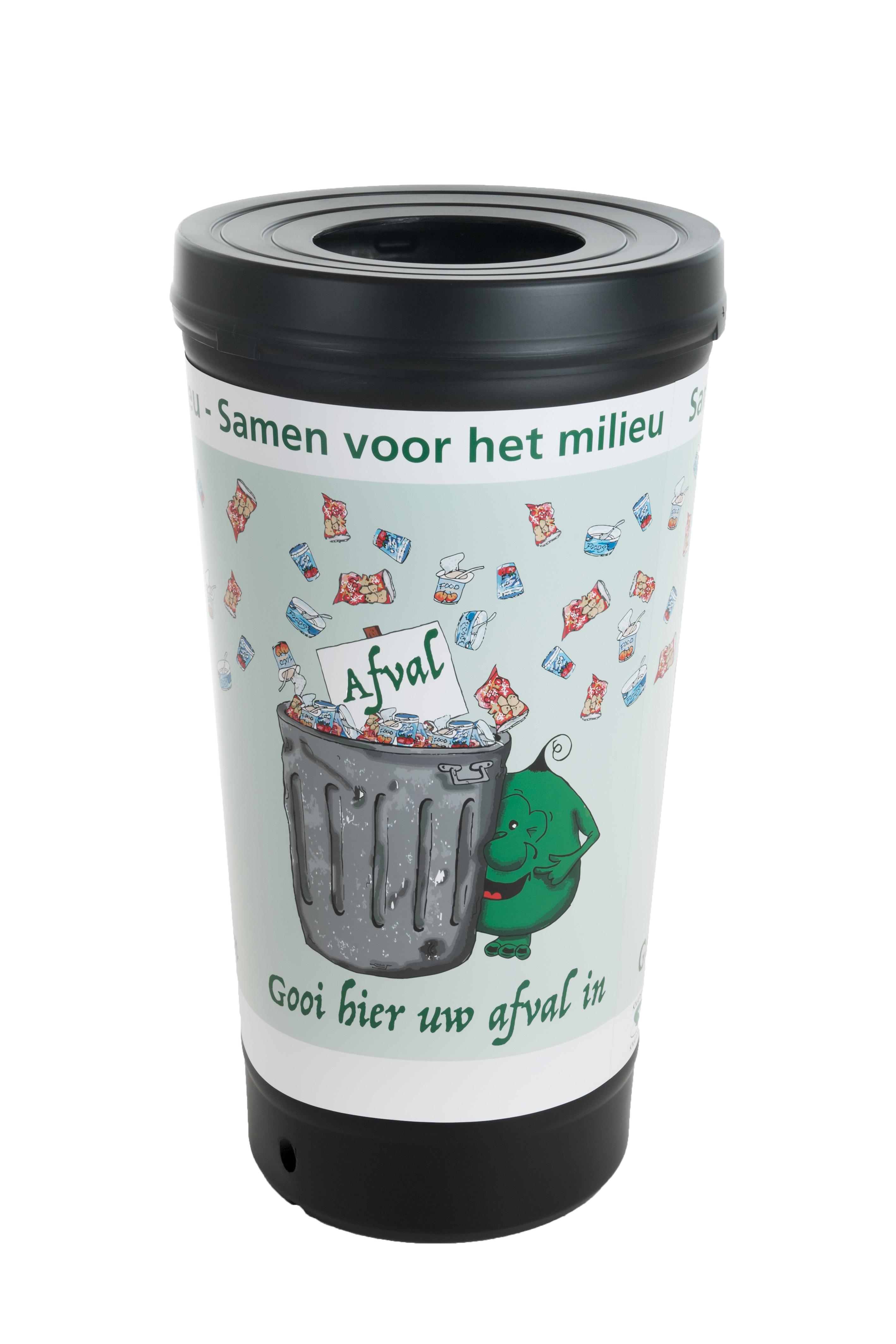 TRASHman grootvolume afvalbak, 210 liter (VB718443)