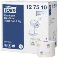 Tork Premium toiletpapier compact 3-lgs wit 70 mtr x 10 cm ds à 27 rol (127510)