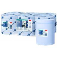 Tork Advanced 415 M-rol 1-lgs blauw 320 mtr x 20 cm doos à 6 rol (128208)