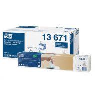 Tork 13671 Xpressnap Snack dispenserservet 1/4v 2laags 21,6x21,6cm 4000st (13671)