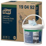 Tork 190492 4rl Low-Lint Bucket reinigingsdoek doos à 4 rol (190492)