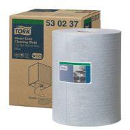 Tork Premium 530 werkdoek 106-1, blauw, 1-laags, 280vel, non-woven (530237)