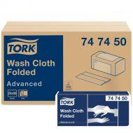 Tork Advanced waslap vouw wit, 6-laags 19 x 25 cm H3, ds à 1600 stuks, 20x80 (747450)