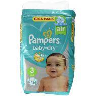 Pampers 136stuks Baby Dry luiers nr 3 (6-10kg) (4015400833444)