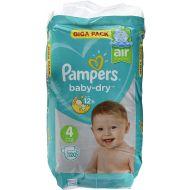 Pampers 120stuks Baby Dry luiers nr 4 (9-14kg) (4015400833871)