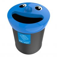 Smiley Face recycling afvalbak 52 liter, paper (VB719464)