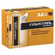 10 per pak Duracell Procell Industrial AA Alkaline ID1500 batterijen 1.5V LR06 (5000394001428)
