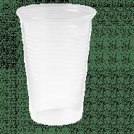 Drinkbeker, 3000stuks, PP, 200ml, splintervrij helder 3000st (150340)