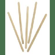Roerstaafjes hout 1000stuks 14cm (444695)