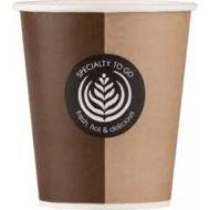 Drinkbeker of koffiebeker karton 250ml 9OZ Coffee to go cup 2000stuks (CGRVA4634)