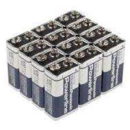 Panasonic Powerline 9V Alkaline ID1604 blokbatterijen 9V 6LR61AD 12stuks (5410853033738)