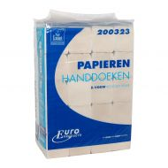 Handdoek 200323 23x25cm ZZ recycled tissue 2laags ECO 3800st (200323)
