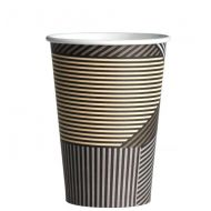 Drinkbeker of koffiebeker karton Lines 240cc Coffee to go cup 1000stuks (133320)