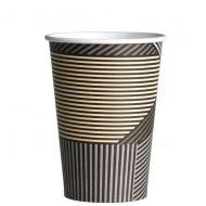 Drinkbeker of koffiebeker karton Lines 360cc Coffee to go cup 1000stuks (133322)