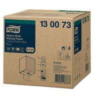 Tork Adv. Wiper 430 Perform. 2-lgs blauw 170 mtr x 26 cm doos à 1 rol/500 vel (130073)