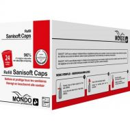 SANITAIR REINIGER REFILL SANISOFT CAPS 24X20ML + 1 VERSTUIVER - TRIGGER GRATIS (CPS120-CPS)