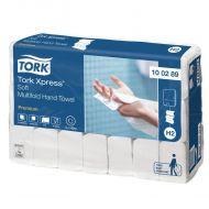 Tork Premium handdoek i-vouw 2-lgs wit 21x26 cm pak à 3150 stuks (100289)