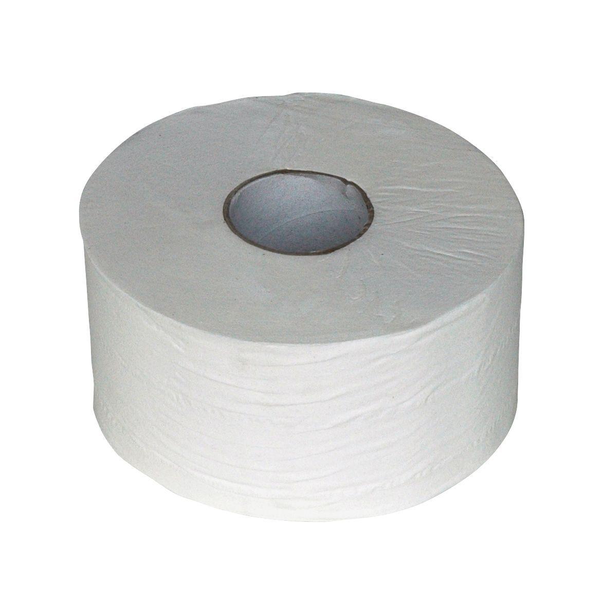 Toiletpapier 240018 mini jumbo 2 laags cellulose 180 meter 12rollen (240018)