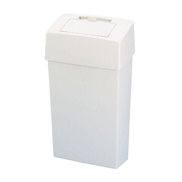 Hygiënebak 23liter wit voor damesverband (430410)