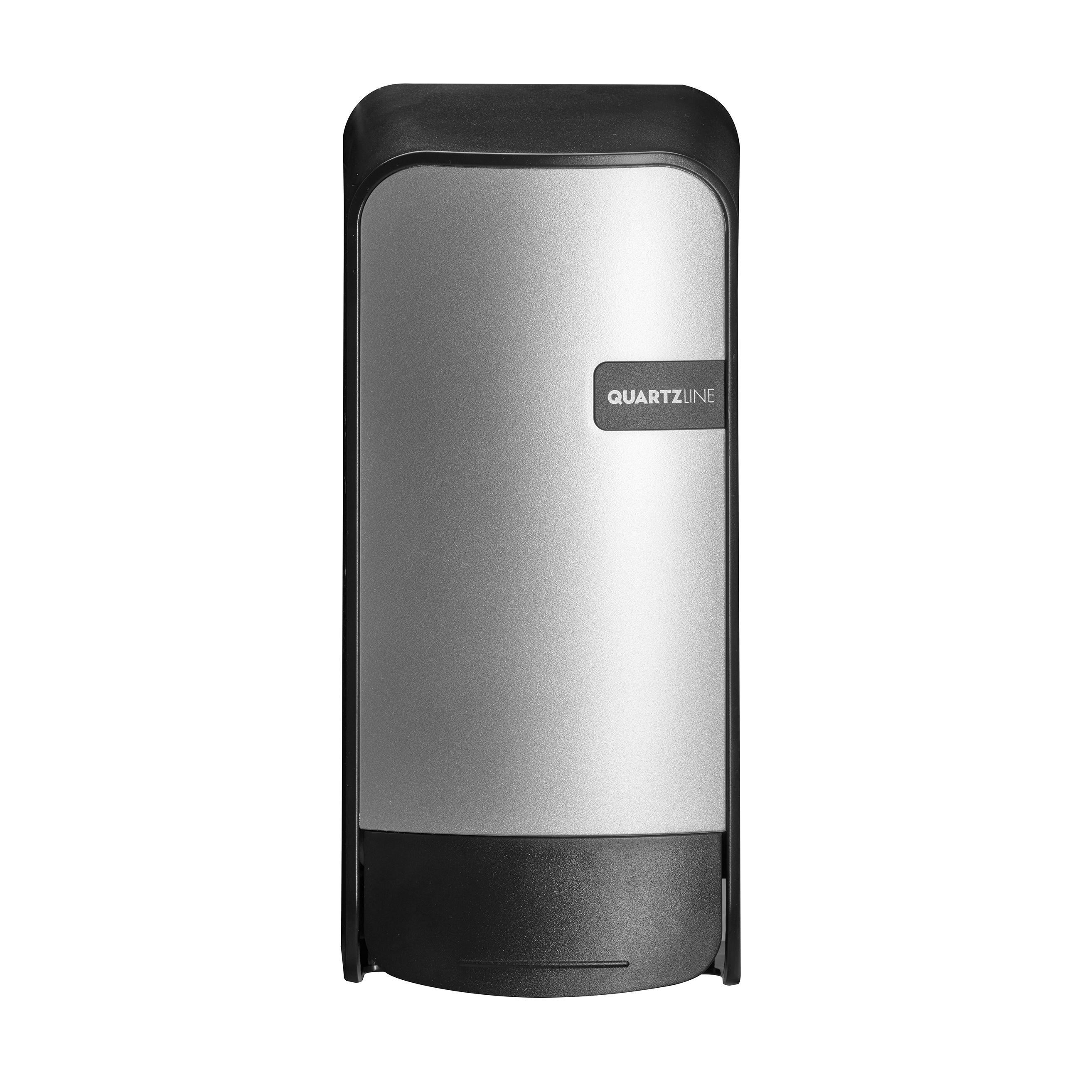 Quartz Silver 441292 Soap dispenser Bag in Box kunststof, navulbaar (441292)