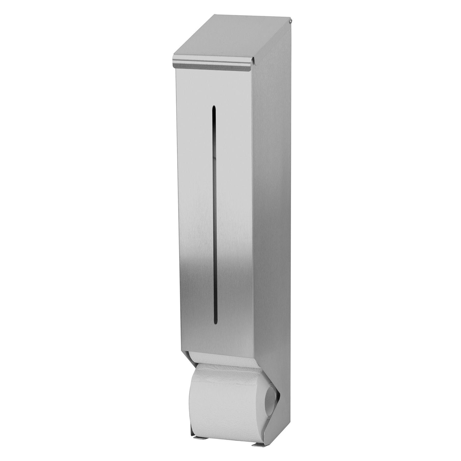 Sanfer Toiletreserverol S3400757 RVS dispenser t.b.v. 4-6 traditionele toiletrollen type R 04 E (S3400757)