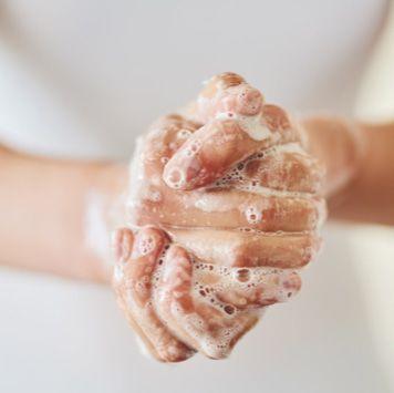 Sanfer handen wassen