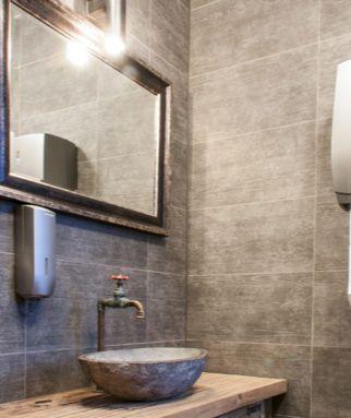 vendor bathroom
